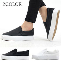 Round Toe Rubber Sole Casual Style Faux Fur Street Style
