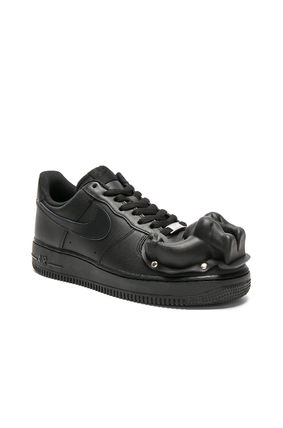 Collaboration Leather Sneakers