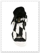 MSGM Stripes Round Toe Casual Style Sandals Sandal
