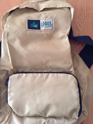 Bifold style backpack