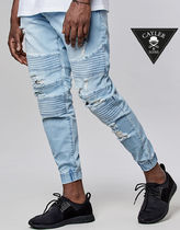 CAYLER&SONS Denim Street Style Joggers Jeans