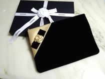 CHANEL MATELASSE A4 Plain Clutches