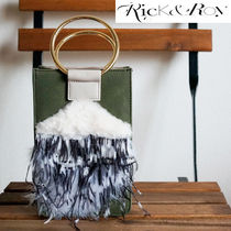 Rick & Roy 2WAY Leather Party Style Shoulder Bags