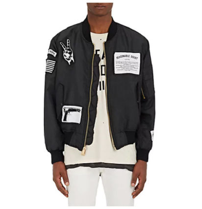 Street Style Collaboration MA-1 Bomber Jackets