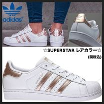 adidas SUPERSTAR Casual Style Unisex Low-Top Sneakers