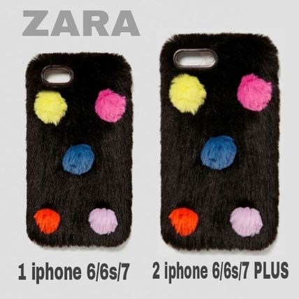 Dots Blended Fabrics Smart Phone Cases