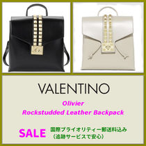 VALENTINO <SALE> VALENTINO  Rock studded Leather Backpack