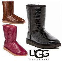 UGG Australia CLASSIC Casual Style Sheepskin Other Animal Patterns