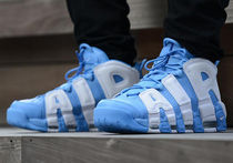 Nike AIR MORE UPTEMPO Street Style Sneakers