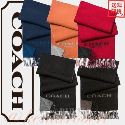 Coach Cashmere Plain Scarves
