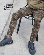 Sixth June Camouflage Street Style Joggers Jeans & Denim