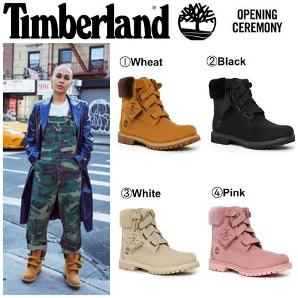Street Style Collaboration Boots Boots