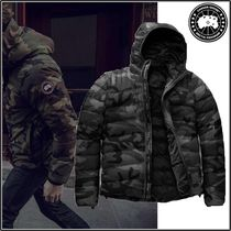 CANADA GOOSE Short Camouflage Street Style Down Jackets