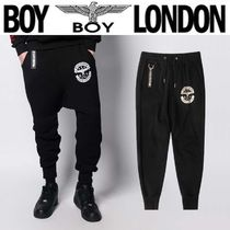 BOY LONDON Star Street Style Other Animal Patterns Cotton Sarouel Pants