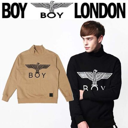 Pullovers Street Style Long Sleeves Other Animal Patterns