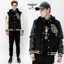 BOY LONDON Wool Street Style Other Animal Patterns Varsity Jackets