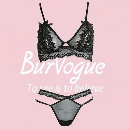 Burvogue Lace Lingerie Sets