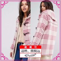 Gloverall Other Check Patterns Duffle Coats