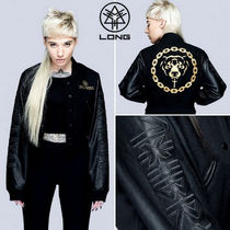 LONG CLOTHING Street Style Varsity Jackets