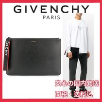 GIVENCHY Unisex Leather Clutches
