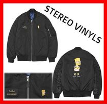 STEREO VINYLS COLLECTION Unisex MA-1 Bomber Jackets