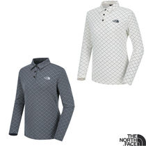 THE NORTH FACE Casual Style Long Sleeves Polo Shirts