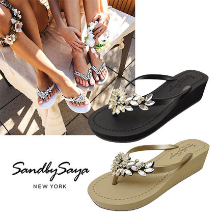 Casual Style Platform & Wedge Sandals