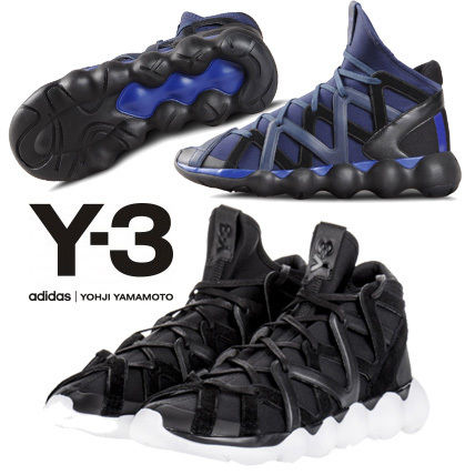 Y-3 KYUJO  Blended Fabrics Collaboration Sneakers