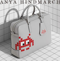 Anya Hindmarch Unisex A4 2WAY Leather Business & Briefcases