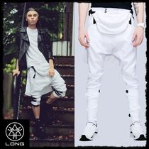 LONG CLOTHING Unisex Plain Sarouel Pants