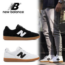 New Balance Street Style Plain Leather Sneakers