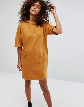 Short Casual Style A-line Street Style Plain Short Sleeves