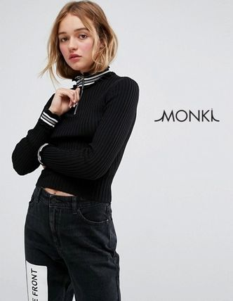 Casual Style Long Sleeves Sweaters