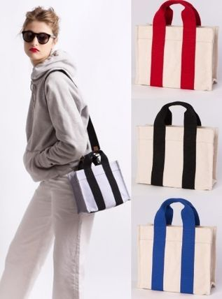 Casual Style Canvas 2WAY Totes