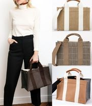 RUE DE VERNEUIL Casual Style A4 2WAY Totes