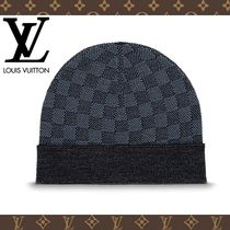 Louis Vuitton DAMIER COBALT Knit Hats