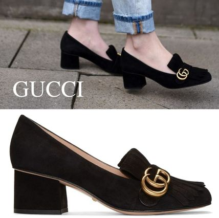 GUCCI GG Marmont Pumps & Mules