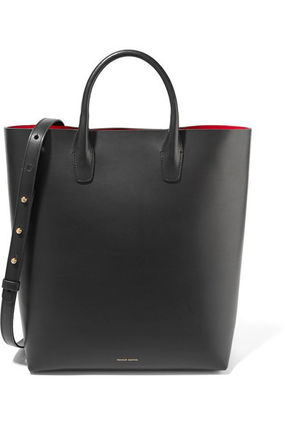 A4 2WAY Leather Totes
