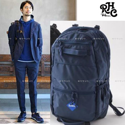 Street Style Collaboration A4 Plain Backpacks