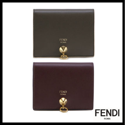 FENDI Street Style Folding Wallets