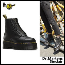 Dr Martens Platform Casual Style Leather Boots Boots