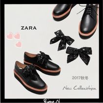 ZARA Platform Lace-Up Shoes