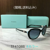 Tiffany & Co With Jewels Oval Sunglasses