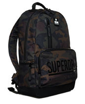 Superdry Camouflage Unisex Nylon A4 Backpacks