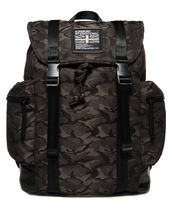 Superdry Camouflage Nylon Street Style A4 Backpacks