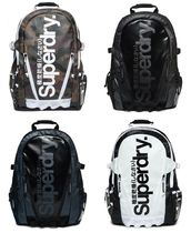 Superdry Camouflage Nylon Street Style A4 Bi-color Backpacks