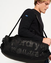 Superdry Nylon Street Style 2WAY Plain Boston Bags