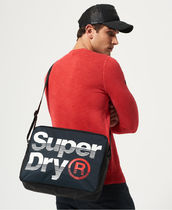 Superdry Nylon Street Style A4 2WAY Bi-color Plain