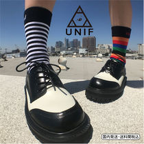 UNIF Clothing Stripes Street Style Cotton Socks & Tights