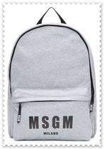 MSGM Casual Style Backpacks